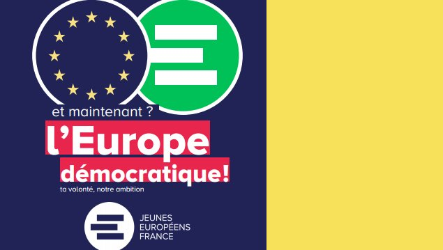 Et maintenant ? L'Europe démocratique !